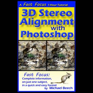 3D Stereo Alignment With Photoshop